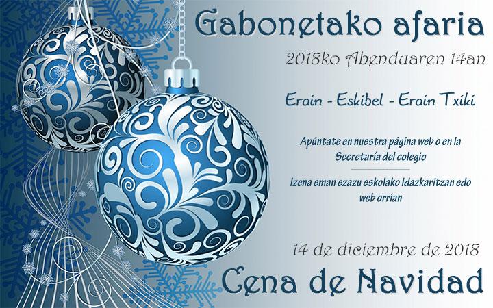 Cena de Navidad de Erain, Eskibel, Erain Txiki