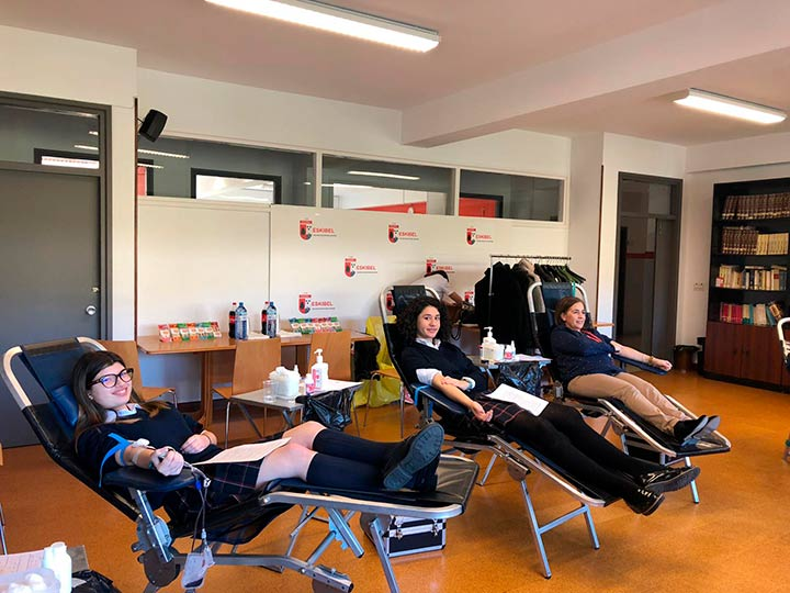 Donación de sangre en Eskibel